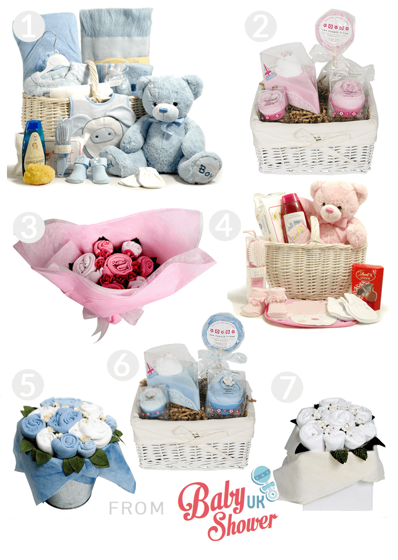 Baby Shower Hampers From Hampergifts.co.uk